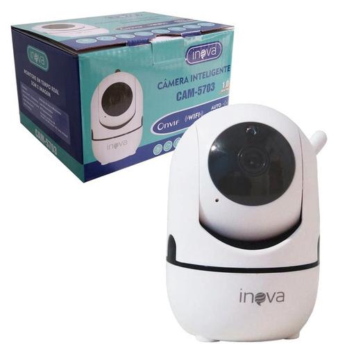 CAMERA ROBO INTELIGENTE INOVA 5703 C/ WIFI P/ SMARTPHONE  CAM-5703 1.0 7893590428261      CX03