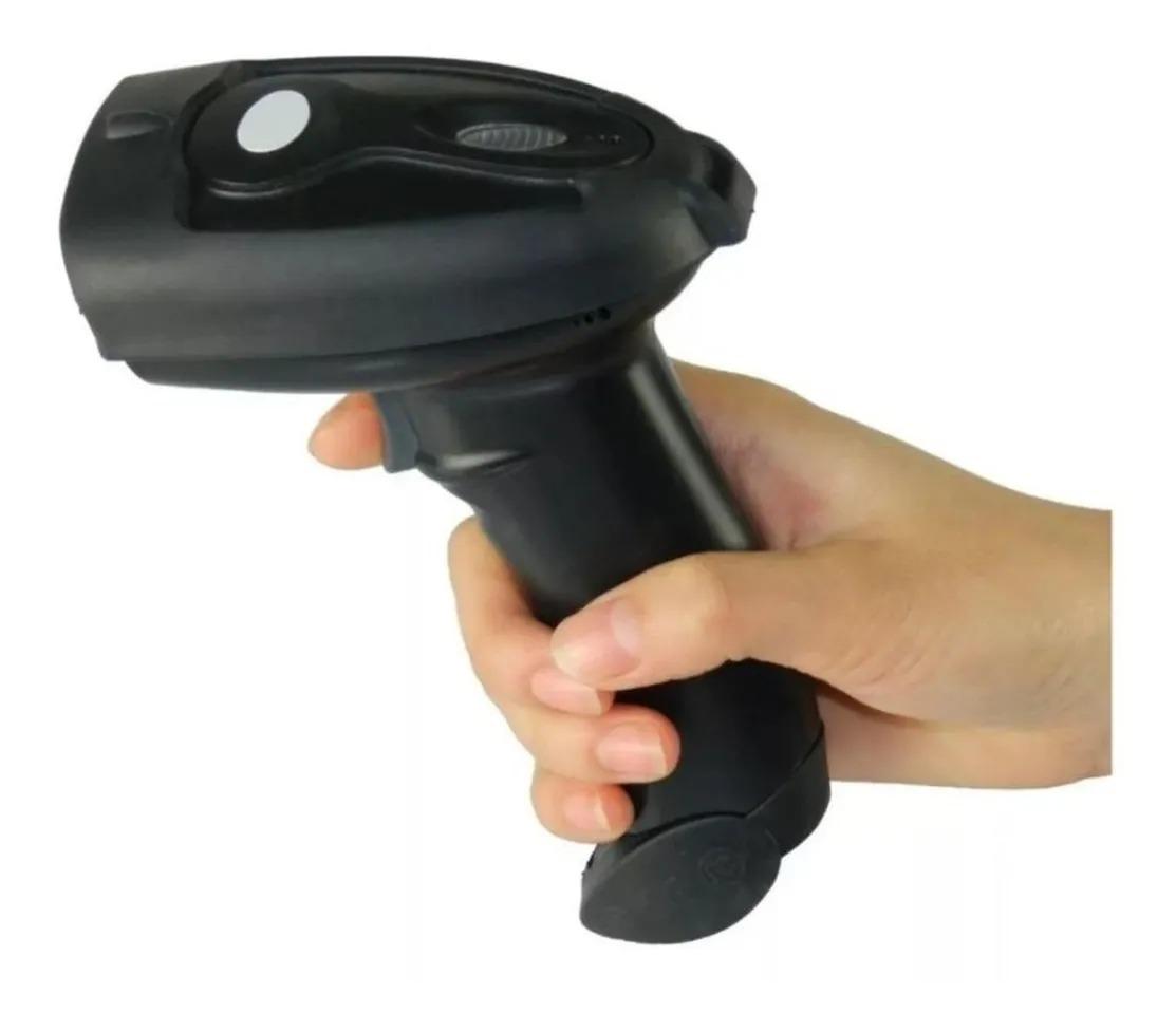LEITOR DE CODIGO DE BARRAS KNUP  COM FIO USB KP-1017          CX01