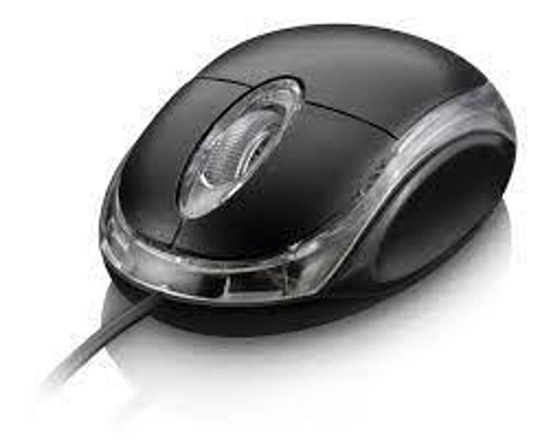 MOUSE OPTICO ALTOMEX A-153  PRETO USB C/ FIO CX03  8878915318129