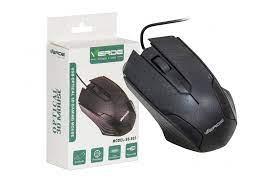 MOUSE OPTICO VERDE SB-S03  PRETO USB C/ FIO CX03  7947289173038