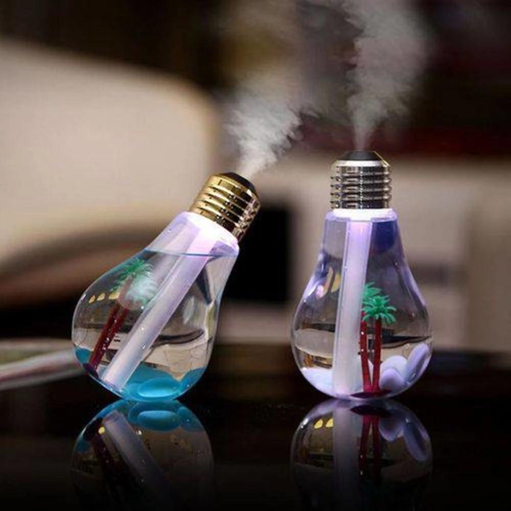UMIDIFICADOR AMBIENTE AR LUZ LED USB LUMINÁRIA LÂMPADA DIFUSOR    CX06 5013845181020