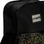 Bolsa Shoulder Bag Transversal Ajustável Glitter Preta