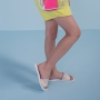 Chinelo Sandália Slide Infantil Menina Candy Color Branca