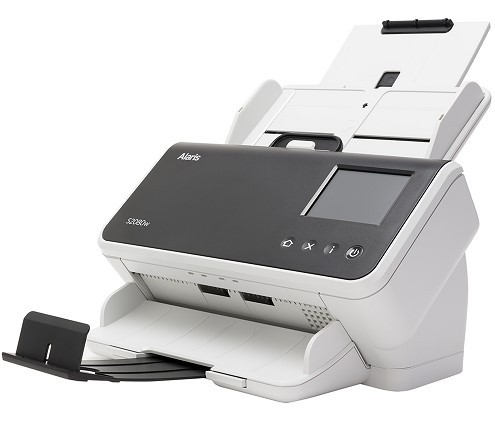 Scanner Alaris S2080W - 80 PPM | 8.000 Folhas/dia | Wifi, Lan e USB