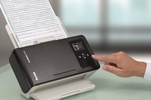 Scanner Kodak ScanMate i1150WN - 30 ppm | 3000 folhas/dia |Conexões Wifi, LAN e USB