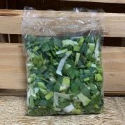 Alho Poró Picado Higienizado Agroecológico 150g (p/ entregas a partir de terça-feira)
