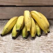 Banana Prata Orgânica 500g - 700g (p/ entregas a partir de terça-feira)