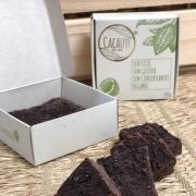 Brownie de Chocolate Artesanal Refinado com Coco 240g - Vegano