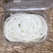 Cebola Fatiada Higienizada Orgânica 150g