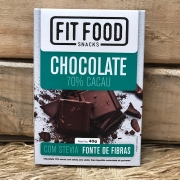 Chocolate 70% Stevia 40g - Fit Food
