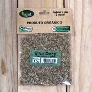 Erva Doce Seco Orgânico 15g - Foeniculum vulgare