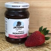 Geléia de Morango Orgânica 200g - Jatobá