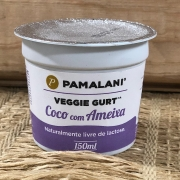 Iogurte Vegano Coco e Ameixa 150ml - Pamalani