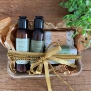 Kit Shampoo e Condicional e 2 Sabonetes em Barra Natal