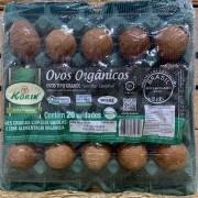 Ovos Orgânicos 20 unidades Korin
