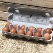 Ovos Orgânicos Dúzia - Lá Do Sítio
