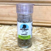 Sal e Limão Orgânico com Moedor 100g