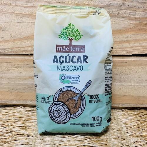Açúcar Mascavo Orgânico 400g