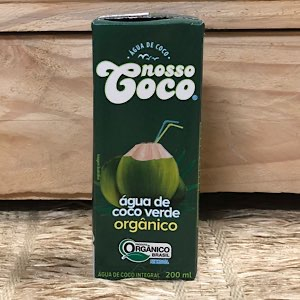 Água de coco orgânica 200ml