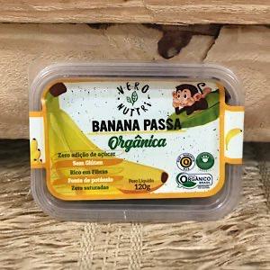 Banana Passa Orgânica 120g
