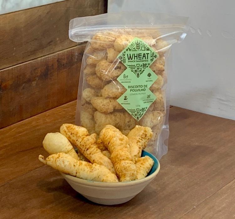 Biscoito de Polvilho Orgânico 120g - Wheat