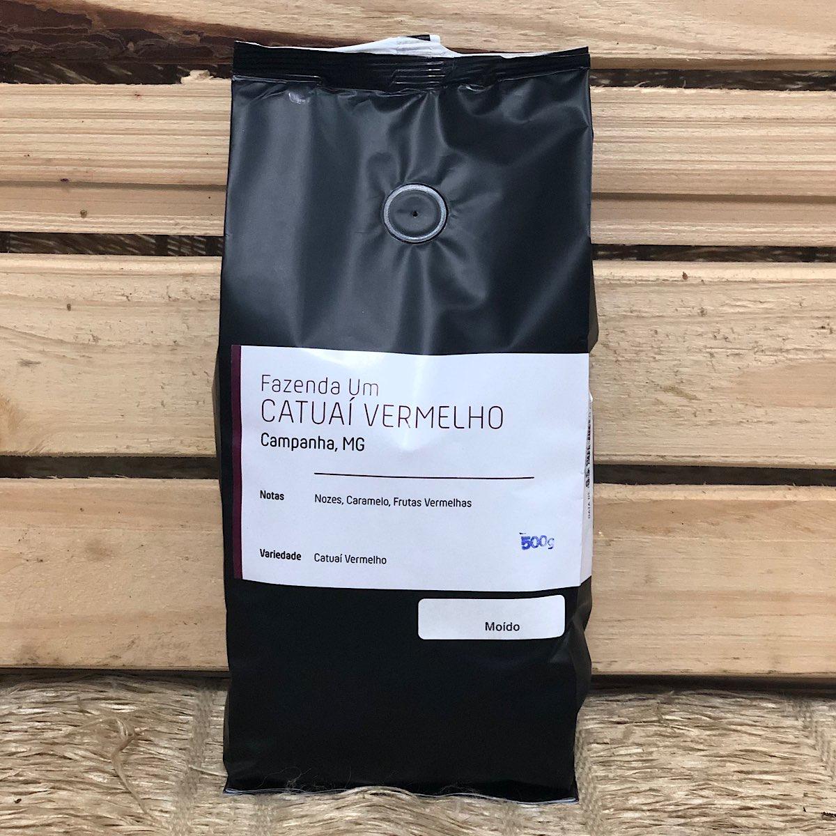 Café Moído Catuaí Vermelho 500g - Um Coffee Co