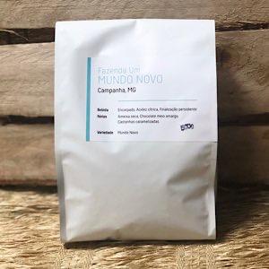 Café Moído Mundo Novo 500g - Um Coffee Co