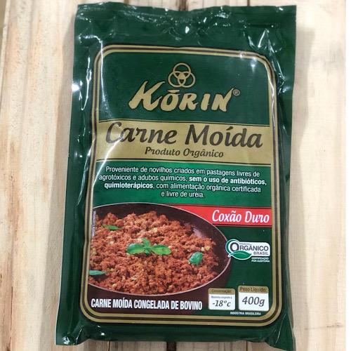 Carne Moída Linha Orgânica 400g - congelado