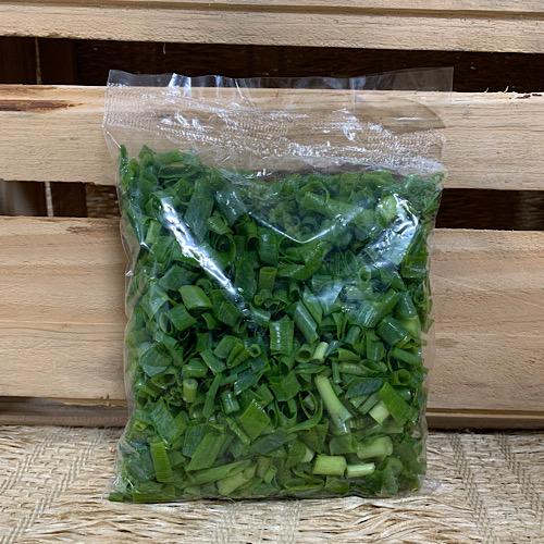 Cebolinha Picada Higienizada Agroecológica 150g (p/ entregas a partir de terça-feira)