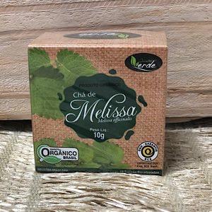 Chá de Melissa Orgânico 10g - Sachê