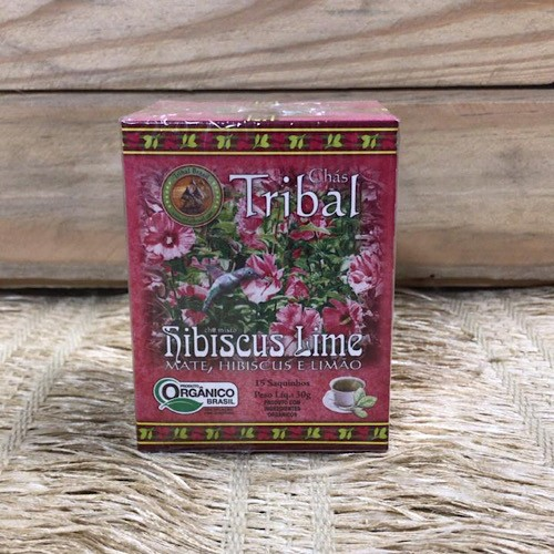 Chá Hibiscus Lime Orgânico - Tribal