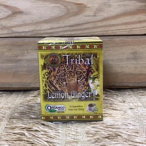 Chá Lemon Ginger Orgânico - Tribal