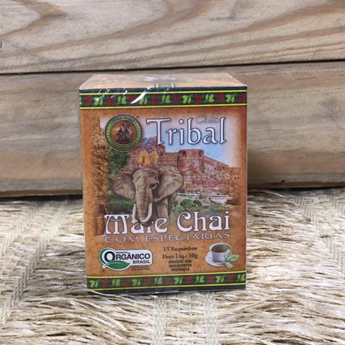 Chá Mate Chai com Especiarias Orgânico - Tribal