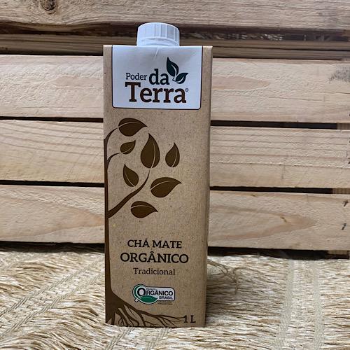 Chá Mate Orgânico Litro