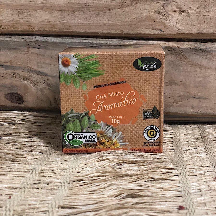 Chá Misto Aromático Orgânico 10g