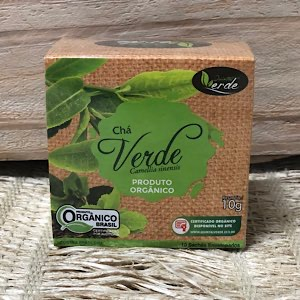 Chá Verde Orgânico 10g - Sachê