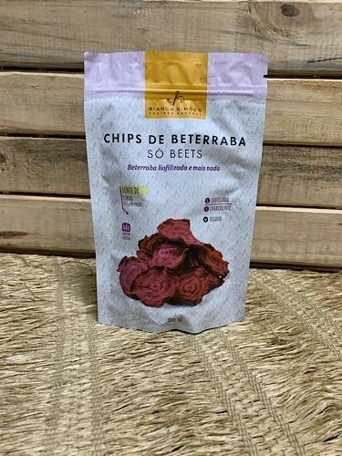 Chips de Beterraba Liofilizado 20g - BIANCA SIMÕES