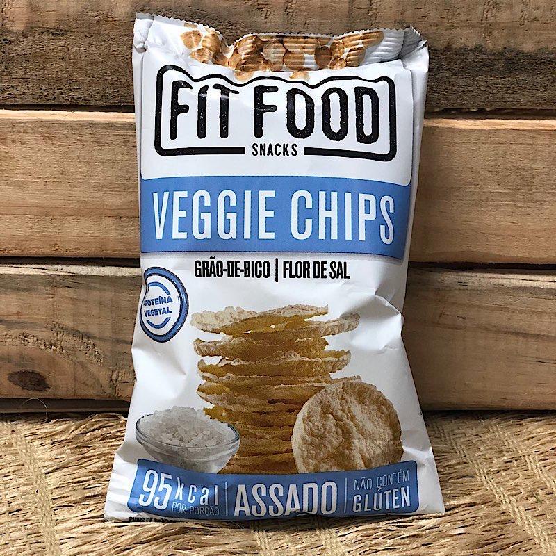 Chips de Grão de Bico 40g - Fit Food