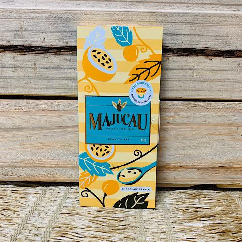Chocolate Branco em Barra 70% Maracujá 80g