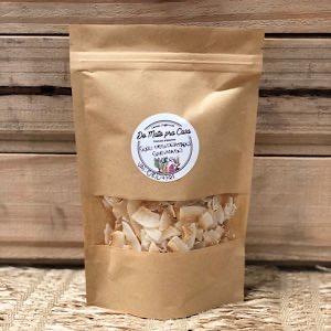 Coco Queimado em Lascas 100g - sem açúcar