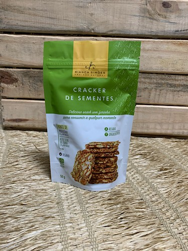 Cracker de Sementes 50g