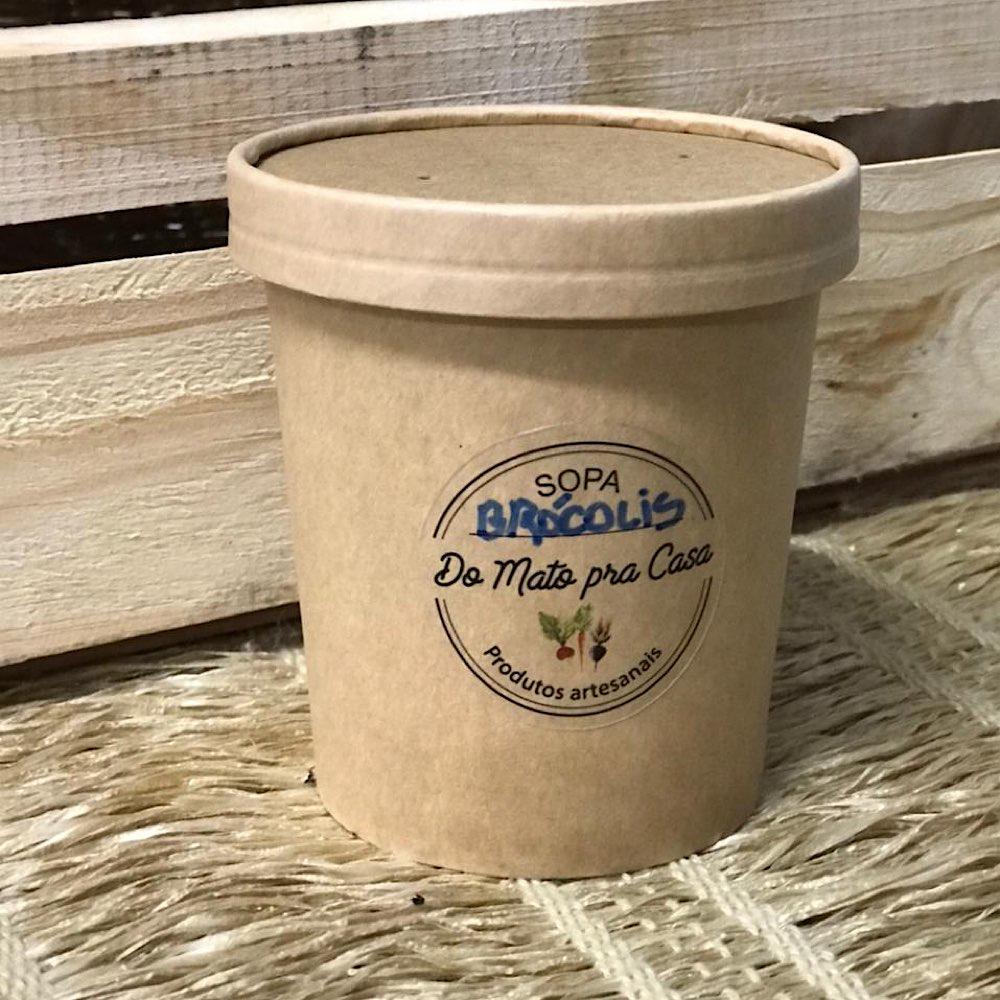 Creme De Brócolis Da Casa Orgânico 400ml - Congelado