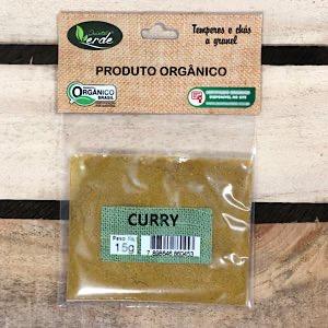 Curry em Pó Orgânico 15g