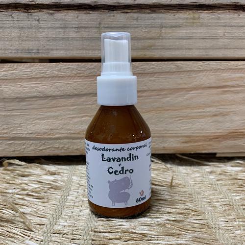 Desodorante  Spray Lavandin e Cedro 80ml