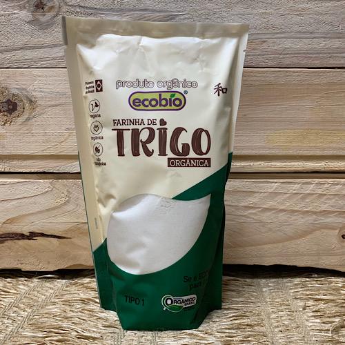 Farinha de Trigo Branca Orgânica 500g