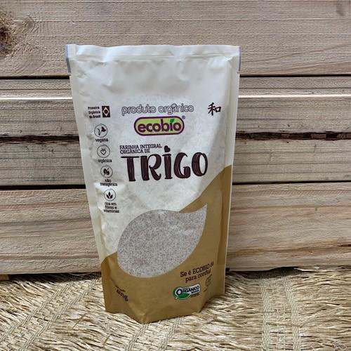 Farinha de Trigo Integral Orgânica 400g