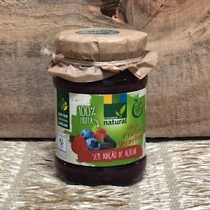Geleia de Frutas Vermelhas sem Açúcar Orgânica 180g