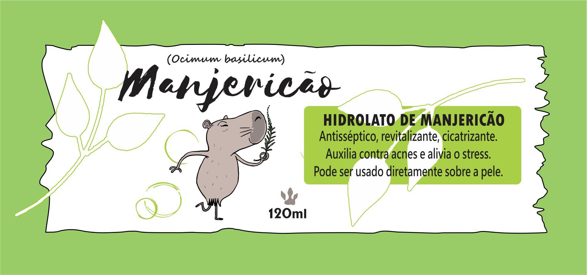 Hidrolato de Manjericão 120ml