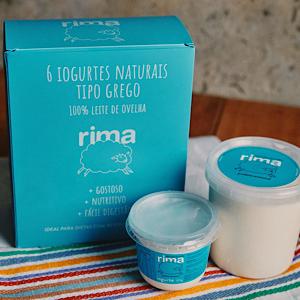 Iogurte Natural de Ovelha 120g - 2 unidades - Rima