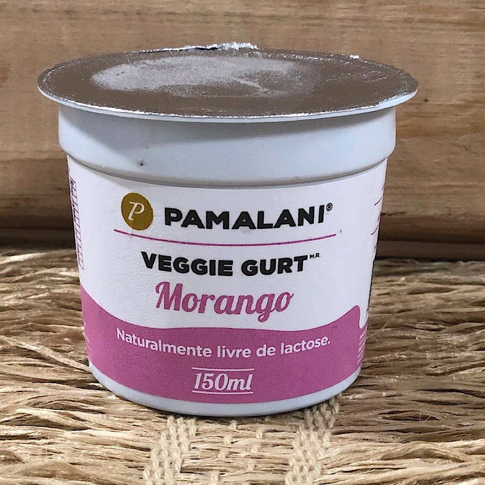 Iogurte Vegano de Morango 150ml - Pamalani